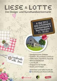 Plz Bad Nauheim Aussteller Gesucht Liese Und Lotte Der Design Und