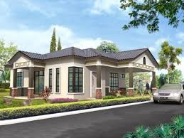 bungalow house designs beautiful design 9 single storey bungalow house malaysia plans