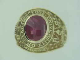 alabama class ring 1949 alabama class ring