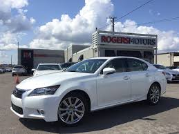 lexus gs 350 awd 2013 used 2013 lexus gs 350 for sale oakville on