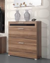 Entryway Furniture Storage General Mediano Shoe Cabinet In Walnut Shoe Cabinets Fashion
