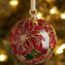 our collectible cloisonne ornaments are created by skilled artisans