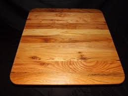 36 x 36 table hand crafted custom cutting board that measures 36 x 36 or the