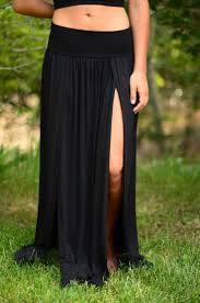 best 25 skirts with slits ideas on pinterest summer maxi skirts