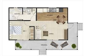 House Flat Design Granny Flat Designs 45sqm One Bedroom Granny Flat Granny Flats