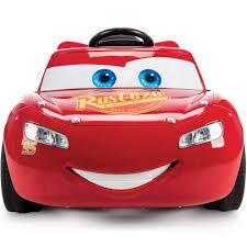 lighting mcqueen pedal car disney pixar cars 3 lightning mcqueen 6v battery powered ride on by