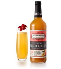 Discount Cocktail Drink Peach Bellini Powell U0026 Mahoney Craft Cocktail Mixers