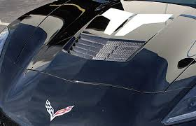 carbon fiber corvette parts 2014 2018 c7 corvette carbon fiber vent insert cf 700005