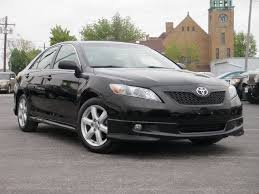 2009 toyota camry black toyota camry 2009 black sedan se gasoline 4 cylinders front wheel