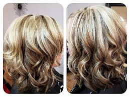 blonde hair with mocha lowlights collections of medium length hairstyles with highlights and