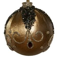 Black Metal Christmas Decorations by Chic Christmas Decorating Ideas Black And Golden Colors