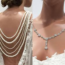 back jewelry necklace images 19 best back drop necklace images necklaces jpg