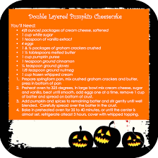 countdown to thanksgiving recipe 17 layer pumpkin