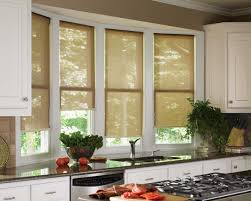 Grommet Kitchen Curtains Tuscan Kitchen Curtain Ideas Combined Window 2 Panels Treatment