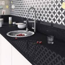 cuisine marbre noir prix plan de travail cuisine beautiful plan de travail stratifié
