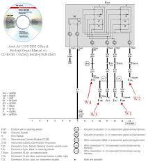 audi a6 towbar wiring diagram audi wiring diagrams instruction
