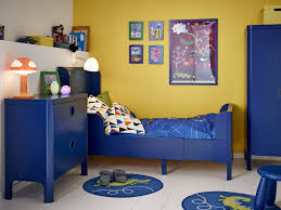 Bedroom Decorating Ideas In Blue And Brown Bedroom Kids Bedroom Decorations Be Equipped With Blue Bed Along