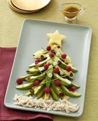 christmas avocado salad tree the nibble blog adventures in