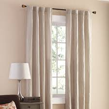 Walmart Mainstays Curtains Mainstays Crushed Microfiber Curtain Panel Set Of 2 Walmart Com