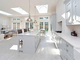 Ideas For Kitchen Floor Terrific White Kitchen Floor Home Designs