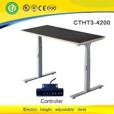 L Shaped Adjustable Height Desk Desk Knoll Height Adjustable Corner Desks Electric Height