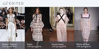Little House On The Prairie Fashion Romance Ain U0027t Dead Meet Spring 16 U0027s New London Crushes Edited