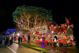 Christma Lights Menashe Family Lights Featured On Abc Television