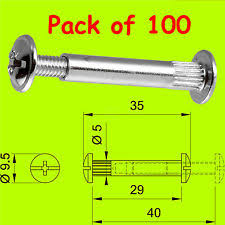 Connector Bolts EBay - Kitchen cabinet connectors