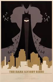 the geeky nerfherder movie poster art the dark knight rises 2012