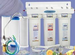 water filter under sink crystal quest mega triple housing undersink water filter system 7