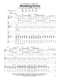 wedding dress chords piano wedding dress guitar tab by matt nathanson guitar tab 72413