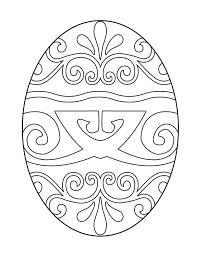 Easter Egg Decorations Printables by Best 25 Easter Egg Coloring Pages Ideas On Pinterest Egg