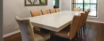 custom made dining room tables lyn caesarstone dining table moss furniture moss furniture
