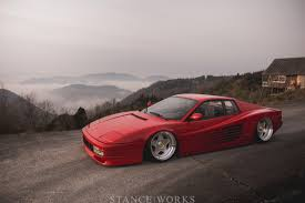 slammed ferrari what makes a car