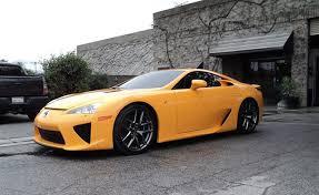 orange lexus lfa orange lexus lfa en route to detroit forcegt com
