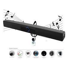 soundbar home theater system lp 10w hi fi subwoofer soundbar usb mini soundbar boombox speakers