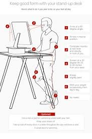 Mat For Standing Desk by Standing Desk Dilemma Too Much Time On Your Feet News Zweal