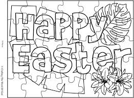easter coloring crafting word god