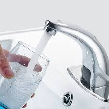 motion sensor faucet touchless auto kitchen bathroom sink faucet