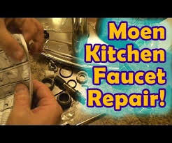 leaky moen kitchen faucet repair 8 steps