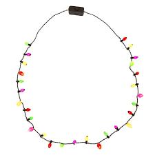 christmas light necklace mini bulbs christmas light up necklace s
