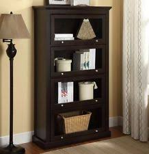 Bookcases With Sliding Glass Doors Glass Door Bookcase Ebay