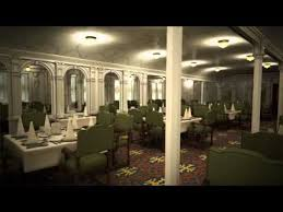 titanic first class dining room titanic ii first class dining room youtube
