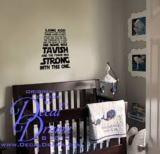 decal drama personalized long ago in a galaxy far away star wars personalized long ago in a galaxy far away star wars inspired fan art vinyl wall