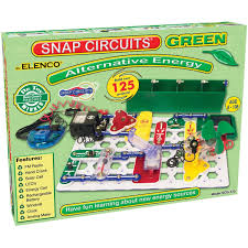 snap circuits lights electronics discovery kit amazon com snap circuits alternative energy green toys games