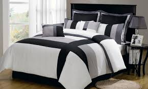 bedding set black white and red bedding cuddle purple bed linen