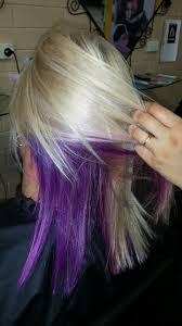 u0027s peek a boo purple with blonde www salon