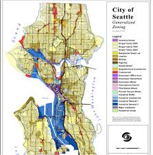Seattle Map Downtown by Seattle As Open City Upzone Single Family End Exclusionary