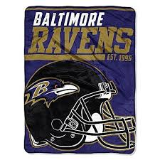 themed throw blanket nfl ravens throw blanket 46 x 60 inches football themed bedding