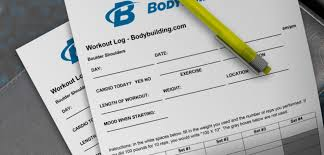 printable workout log create your own